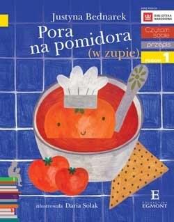 """Okładka książki """"Pora na pomidora"""" /materiały prasowe"""