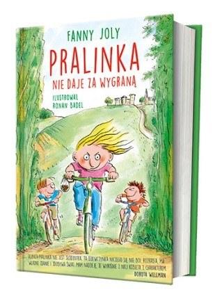 """Okładka książki """"Pralinka nie daje za wygraną"""" /materiały prasowe"""