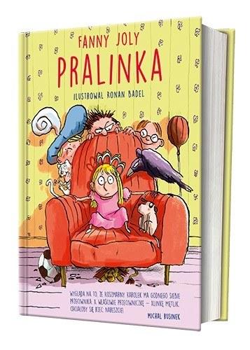 """Okładka książki """"Pralinka"""" /materiały prasowe"""