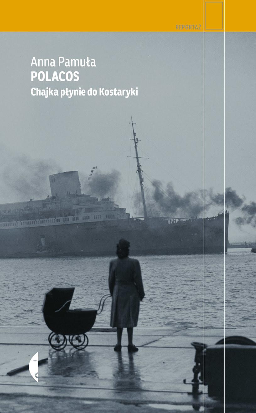 """Okładka książki pt. """"Polacos"""" /materiały prasowe"""