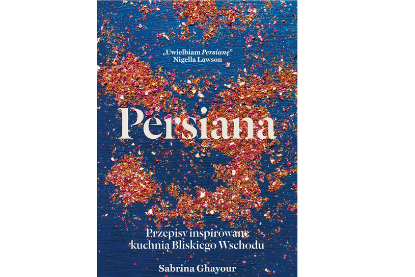 """Okładka książki Sabriny Ghayour """"Persiana"""" /materiały prasowe"""