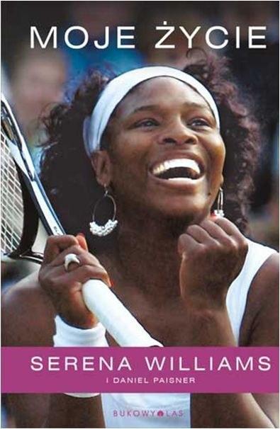 """Okładka książki """"Serena Williams. Moje życie"""" /materiały prasowe"""