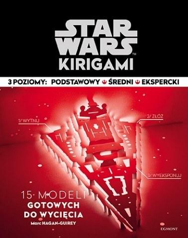 """Okładka książki """"Star Wars. Kirigami"""" /materiały prasowe"""