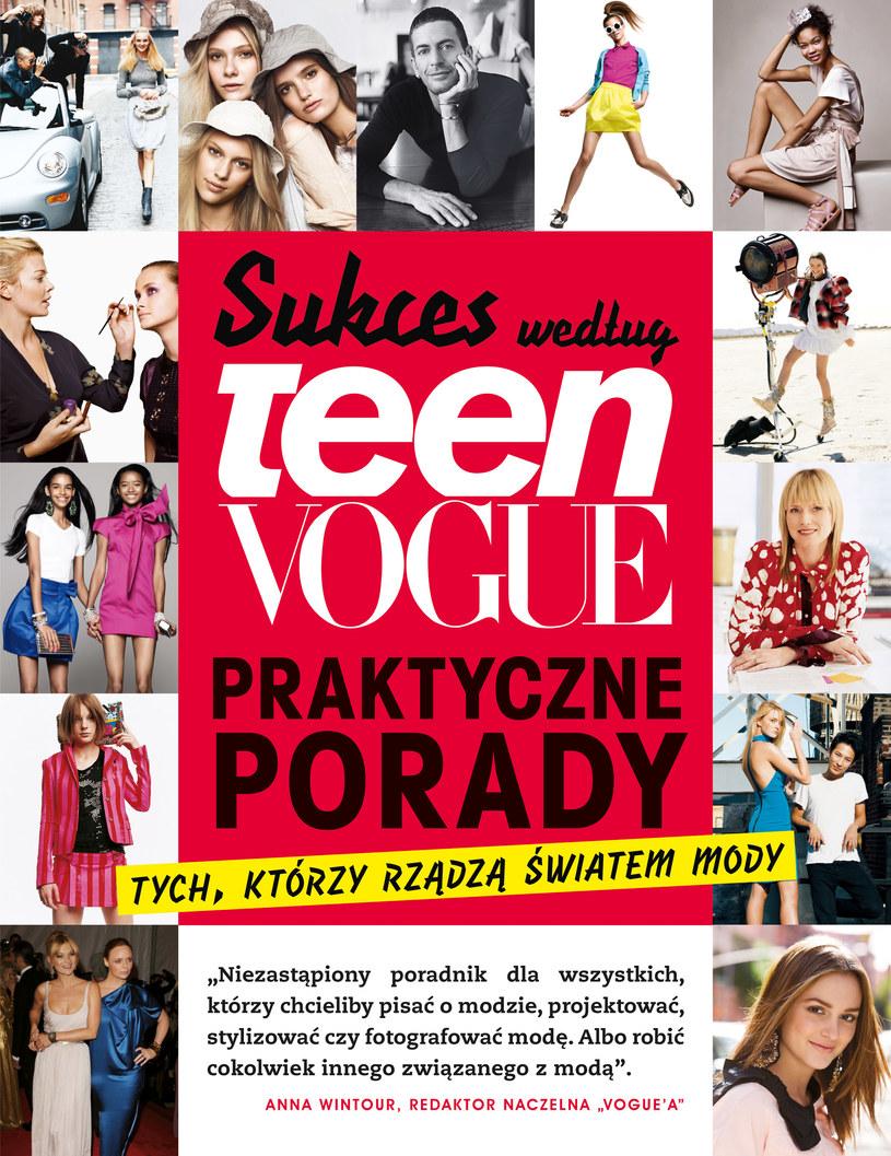 """Okładka książki """"Sukces według Teen Vogue"""" /materiały prasowe"""