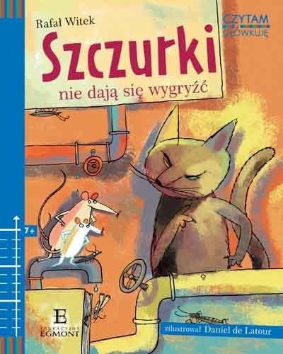 """Okładka książki """"Szczurki nie dają się wygryźć"""" /materiały prasowe"""