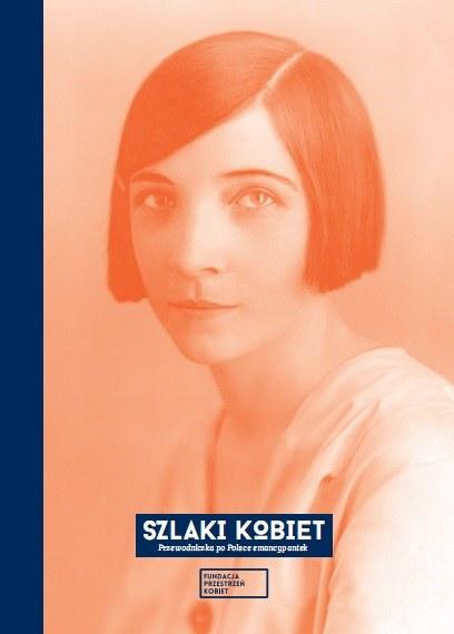 """Okładka książki """"Szlaki kobiet"""" /materiały prasowe"""