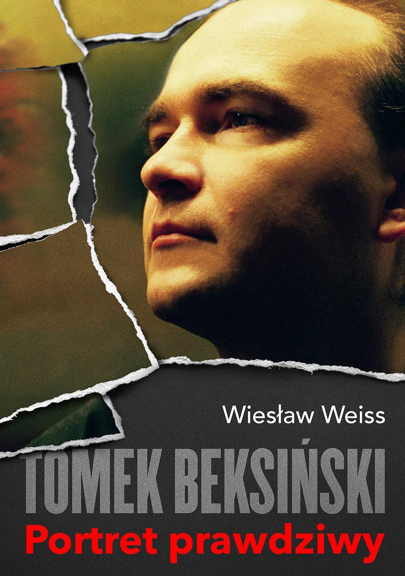 """Okładka książki """"Tomek Beksiński. Portret prawdziwy"""" /materiały prasowe"""