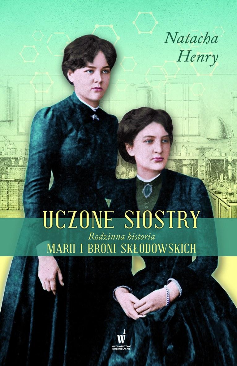"""Okładka książki """"Uczone siostry"""" /materiały prasowe"""