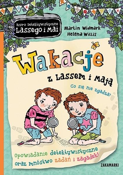 """Okładka książki """"Wakacje z Lassem i Mają"""" /materiały prasowe"""