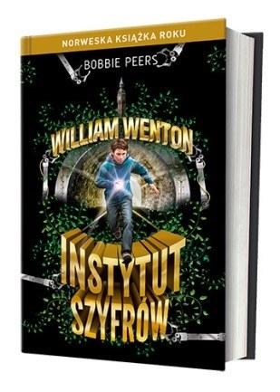 """Okładka książki """"William Wenton. Instytut szyfrów"""" /materiały prasowe"""