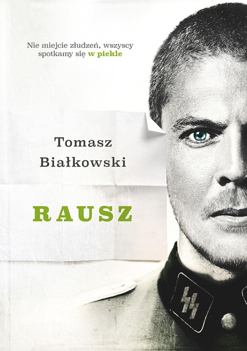 Okładka najnowszej książki Tomasza Białkowskiego /