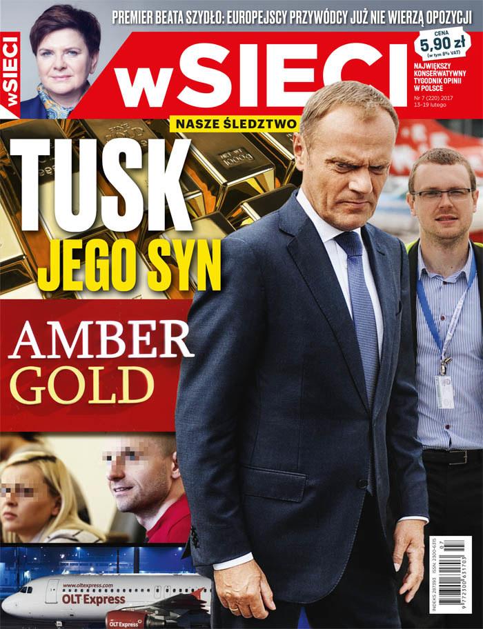 Okładka nowego wydania tygodnika /wSieci /Materiały prasowe