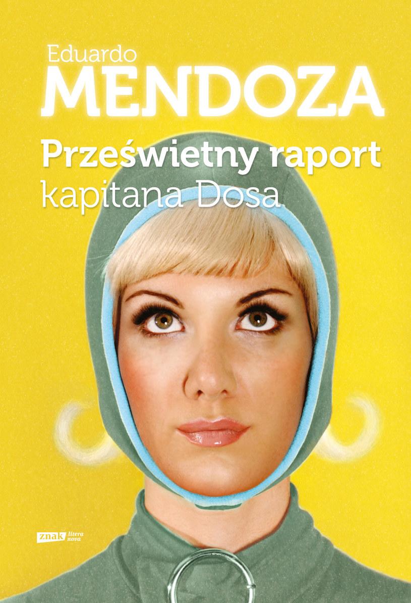 Okładka nowej książki Eduardo Mendozy wydanej przez Wydawnictwo Znak /materiały prasowe