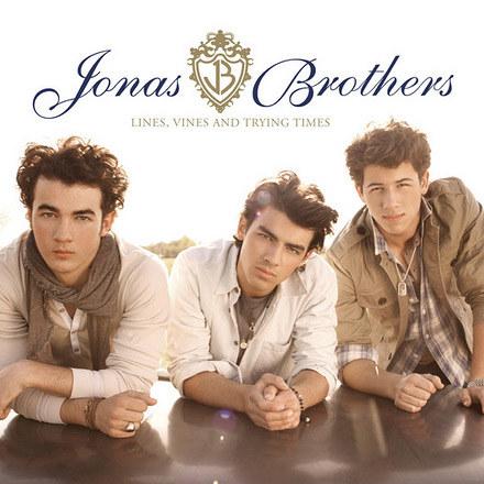 Okładka nowej płyty zespołu Jonas Brothers /