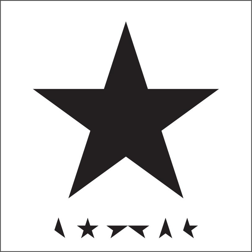 """Okładka płyty """"Blackstar"""" /&nbsp /"""