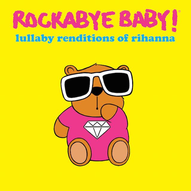 """Okładka płyty """"Lullaby Rendtions of Rihanna"""" /"""
