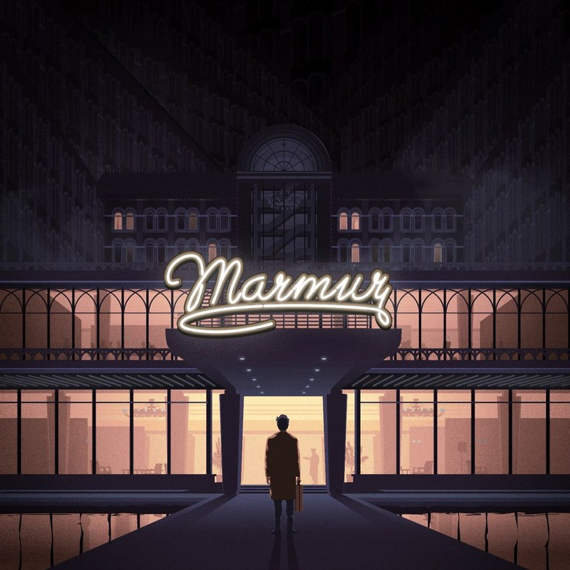 "Okładka płyty ""Marmur"" Taco Hemingwaya /"