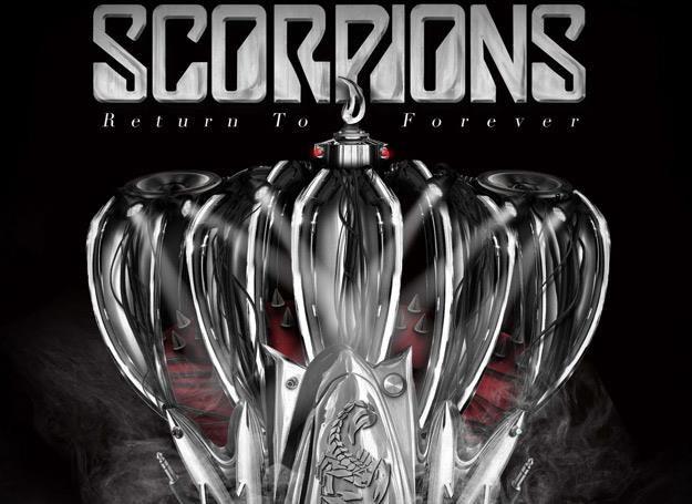 """Okładka płyty """"Return To Forever"""" grupy Scorpions /"""