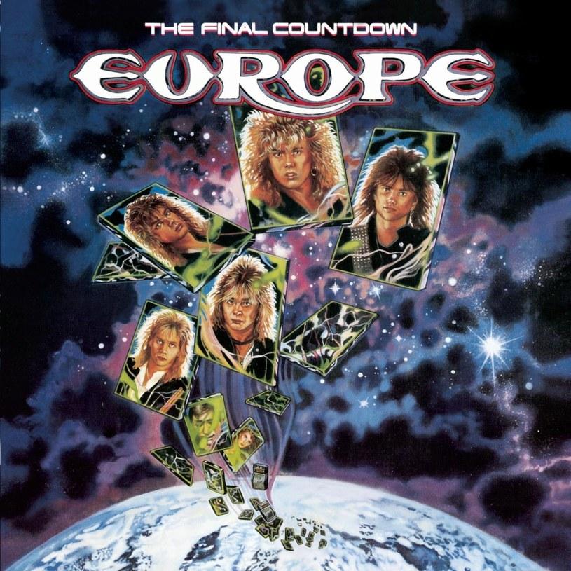 """Okładka płyty """"The Final Countdown"""" Europe /"""