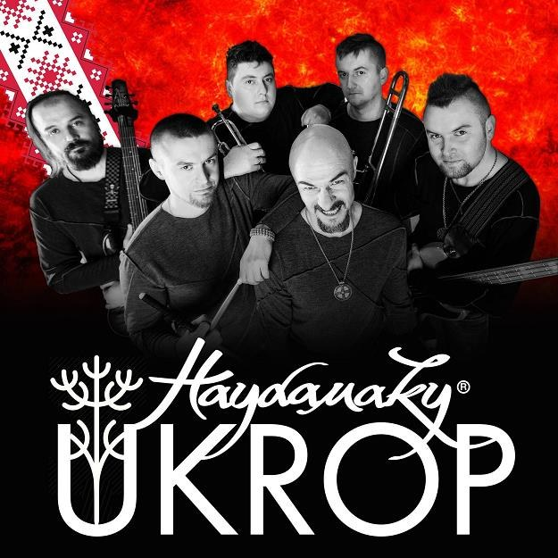 """Okładka płyty """"Ukrop"""" grupy Haydamaky /"""