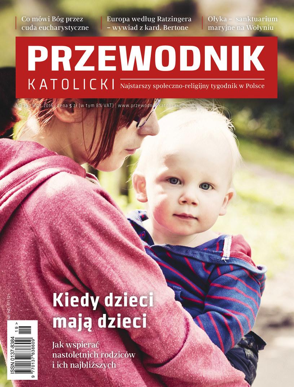 """Okładka """"Przewodnika Katolickiego"""" /Przewodnik Katolicki"""