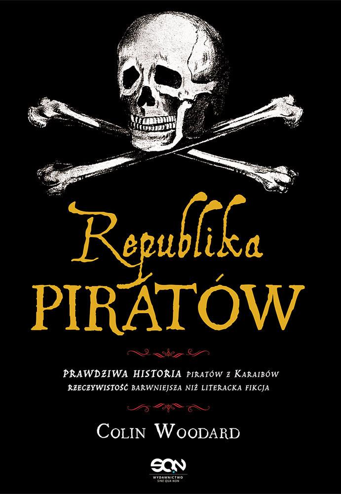 """Okładka """"Republiki piratów"""" /materiały prasowe"""