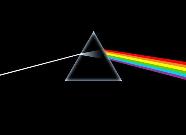 """Okładka """"The Dark Side of the Moon"""" Pink Floyd - najsłynniejsze dzieło Storma Thorgersona /"""