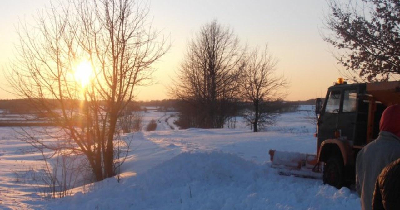 Okolice Rzeszowa toną w śniegu. Zaspy sięgają... dwóch metrów!