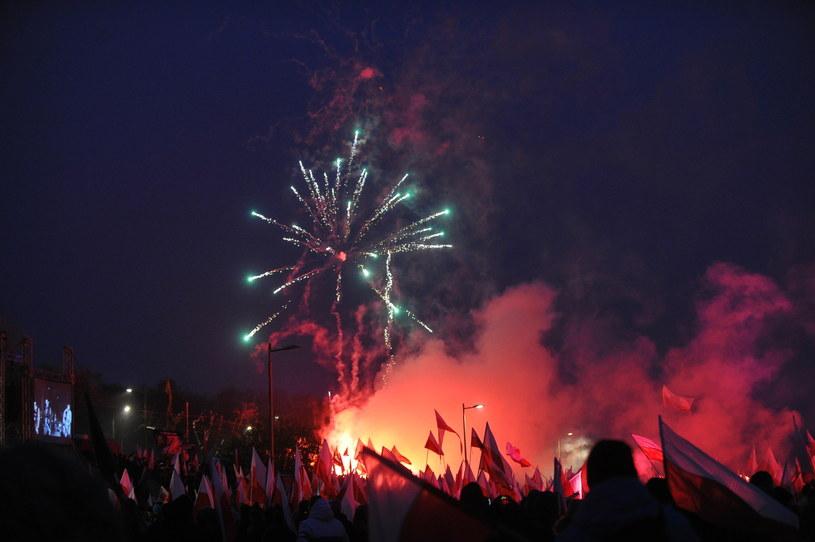Okolice Stadionu Narodowego /Marcin Obara /PAP