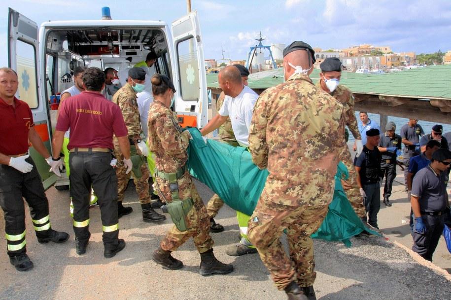 Około 250 osób uważano za zaginione /ARMY PRESS OFFICE /PAP/EPA