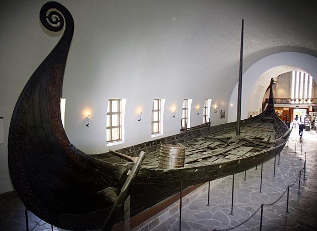 Okręg wikingów znajdujący się w muzeum w Oslo /AFP