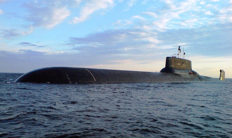 """Okręt podwodny """"Dymitrij Donskoj"""" /INTERIA.PL/materiały prasowe"""