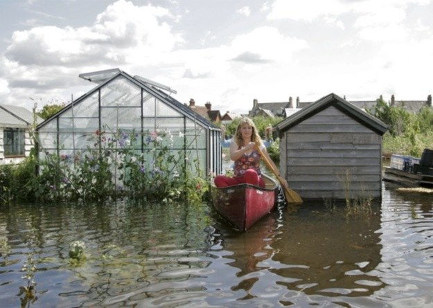 Oksford, powódź w 2007 r. /AFP