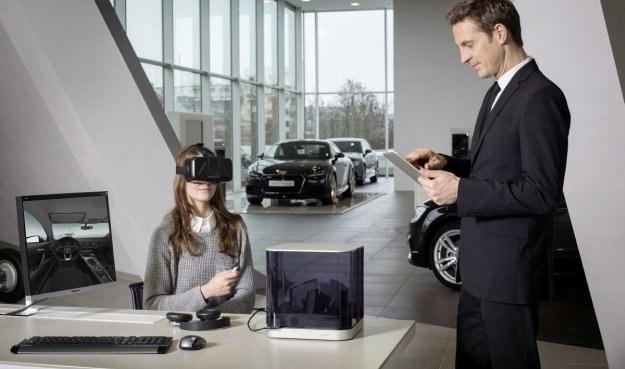 Okulary VR z konfiguratorem Audi /Audi