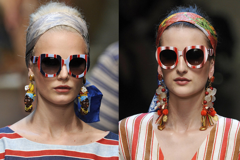 Okulary z kolekcji Dolce and Gabbana /East News/ Zeppelin