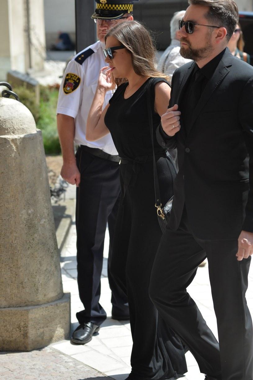 Ola Kwaśniewska z mężem /- /East News