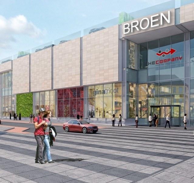 Olbrzymie centrum handlowe w Broen /materiały prasowe
