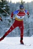Ole Einar Bjoerndalen poprowadził Norwegów do zwycięstwa /AFP