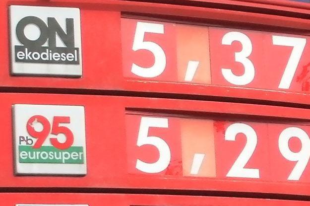 Olej napędowy jest już droższy od benzyny /INTERIA.PL