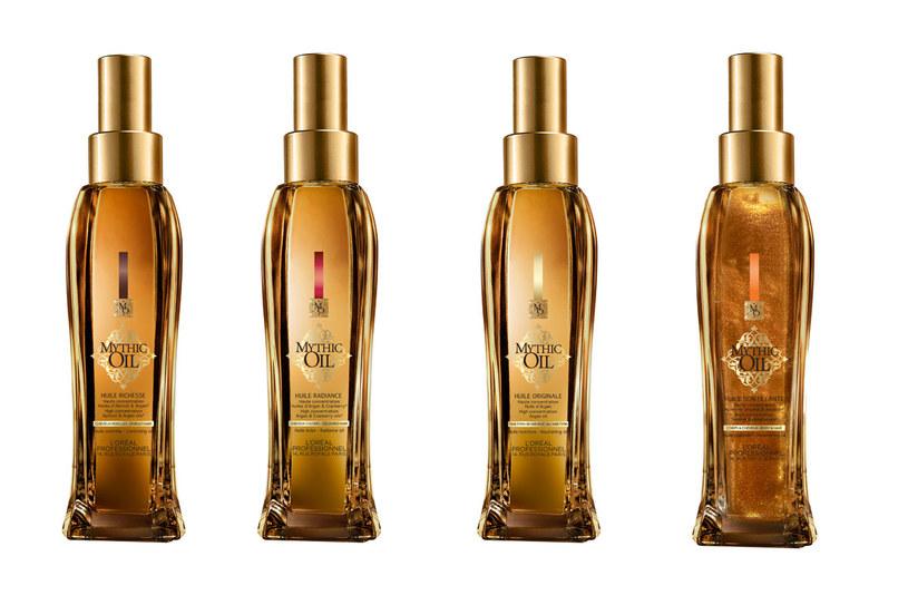 Olejki do pielęgnacji Mythic Oil od L'Oréal Professionnel /materiały prasowe