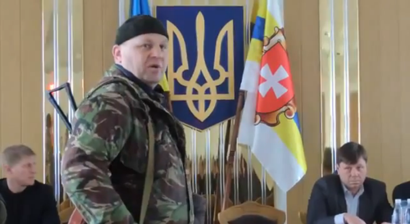 """Ołeksandr Muzyczko """"Saszka Biały"""" /YouTube"""