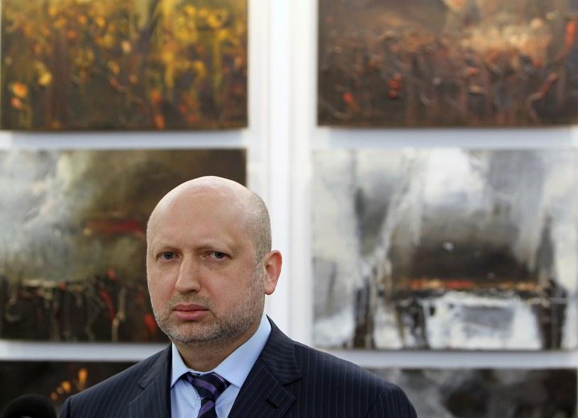 Ołeksandr Turczynow /STANISLAW KOWALCZUK /East News