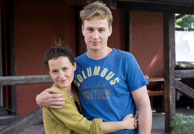 Olga Frycz (Marysia) i Mateusz Janicki (Krzysztof) /Agencja W. Impact