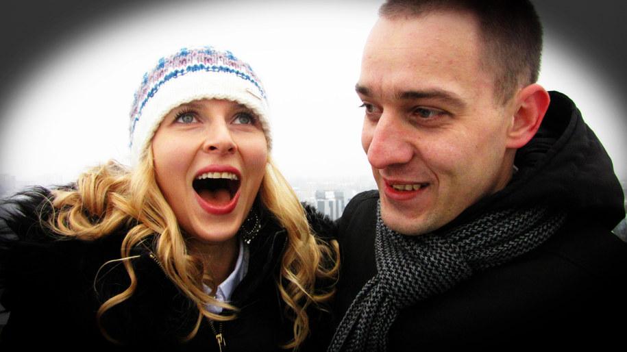 Olga i Sławomir /Józef Polewka /RMF FM