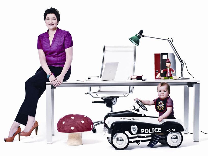 Olga umie oddzielić pracę od życia prywatnego  /Zosia Zija i Jacek Piro /Twój Styl