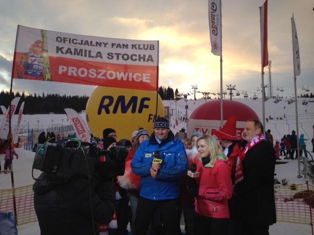 Olimpijskie studio RMF FM i TVP Info /Jacek Skóra /RMF FM