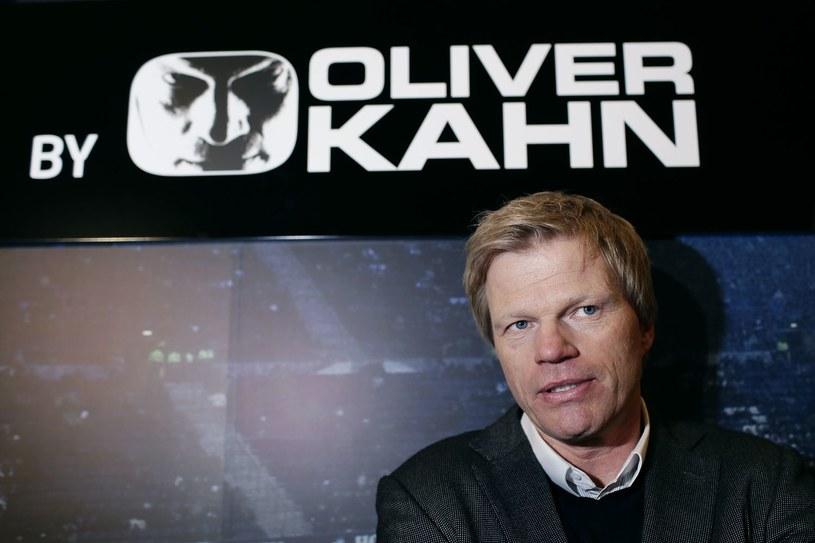 Oliver Kahn, były znakomity niemiecki bramkarz /AFP
