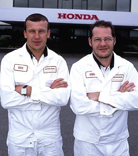 Olivier Panis i Jacques Villeneuve (kliknij) /INTERIA.PL