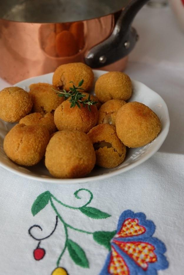 Oliwka ascolańska – czyli zainspirowana Lucią i menu w tym tygodniu