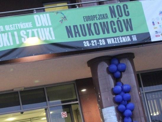 Olsztyńską noc naukowców zorganizowano w bibliotece Uniwersytetu Warmińsko-Mazurskiego /Piotr Bułakowski /RMF FM